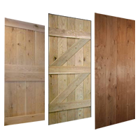 Hand Made Oak Pine Cottage Doors