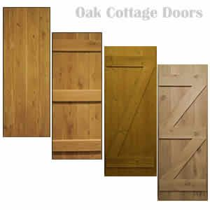 Internal Oak Door   Traditional   Cottage Door   Ledged   Made To Measure
