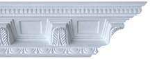 Large Victorian Ornate Plaster Coving 200mm x 223mm
