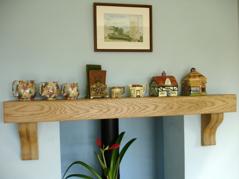 Oak mantel images