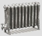 Ribbon Cast Iron Radiators 460mm