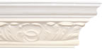 Small Old Acanthus Leaf Plaster Coving 108mm x 92mm