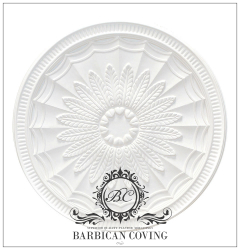 The Gypsy Plaster Ceiling Rose 680mm