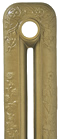 Bronze Painted Cast Iron Radiator
