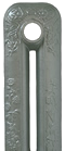 Foundry Grey painted cast iron radiator