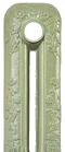 French Grey Painted Cast Iron Radiator