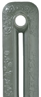 Gun Metal Painted Cast Iron Radiator