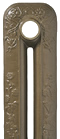 Hammered Bronze painted Cast Iron Radiator