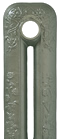 Willow Green Painted Cast Iron Radiator