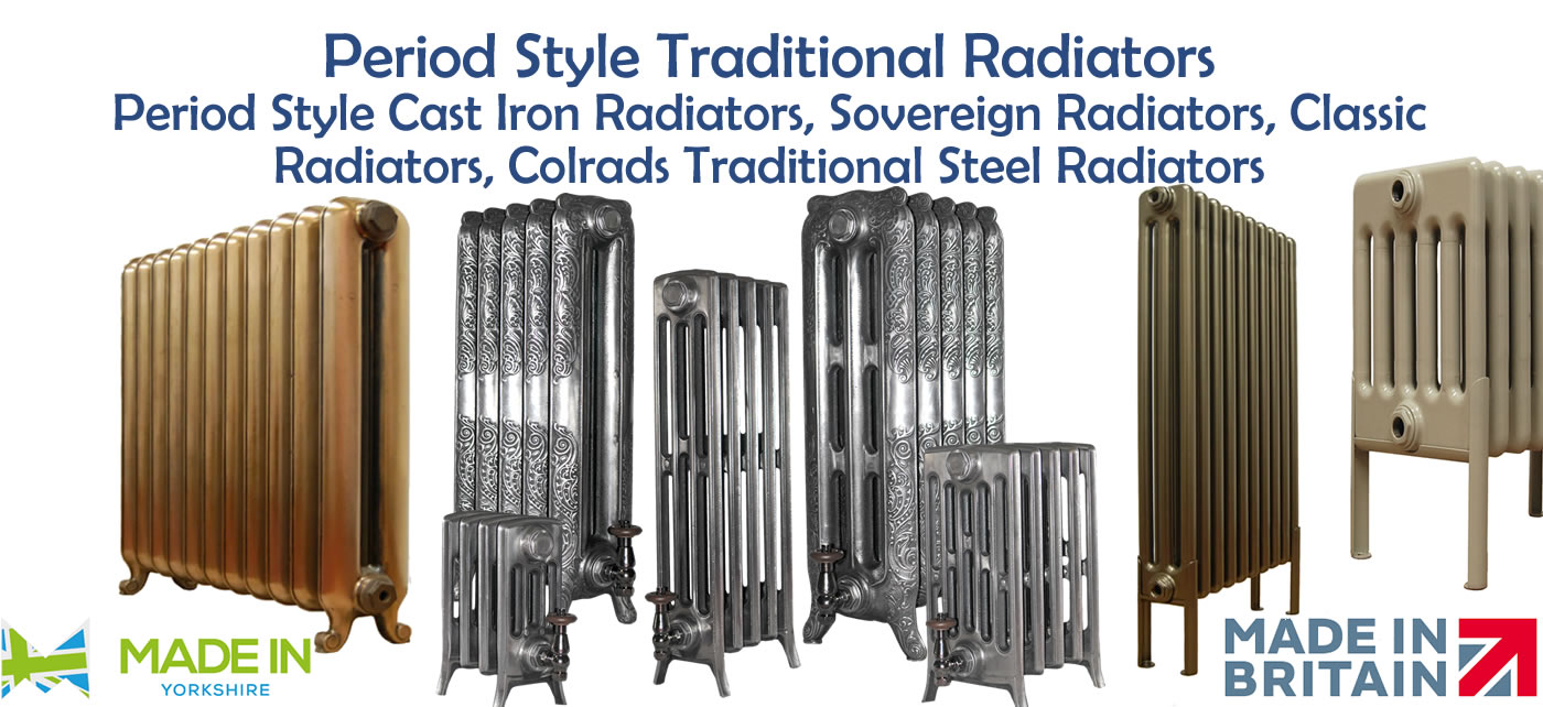 Period Style Traditional Radiators